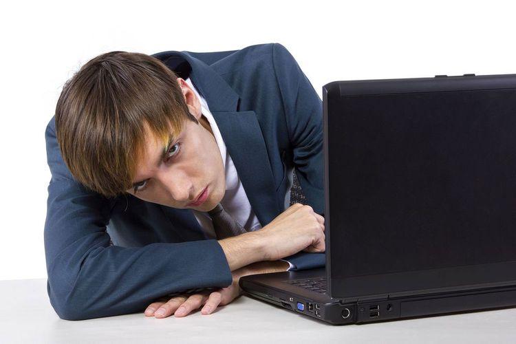 Ноутбук в сон